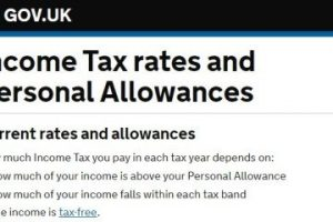 Income tax rate allowance